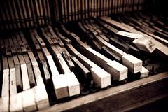 In Repair (David Parks - davidparksphotography.com) Tags: old david oklahoma broken nikon piano parks edmond d700