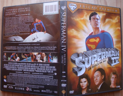 Box DVD Superman por Carlosaobraz.