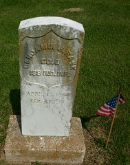 Civil War- Union (proudnamvet........Patriot Guard Riders) Tags: cemetery oak war hill union civil springs arkansas siloam