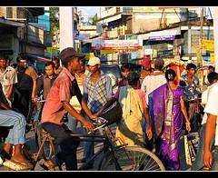 Ped-destrians! (g e c k t r e k) Tags: people bangladesh srimongal lppedestrians lpvibrant lppurple lpmovement