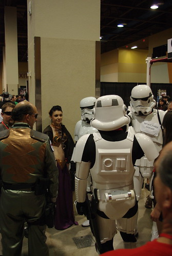 Storm Troopers and Leia
