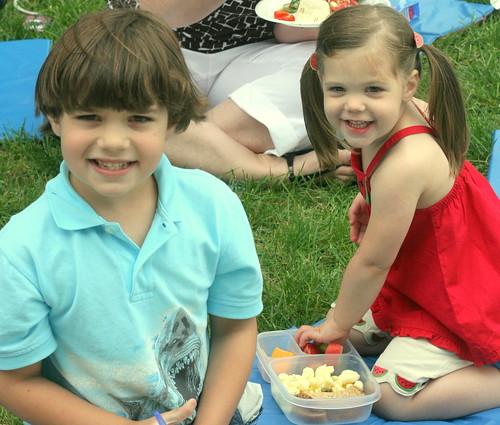 Kindergarten picnic!