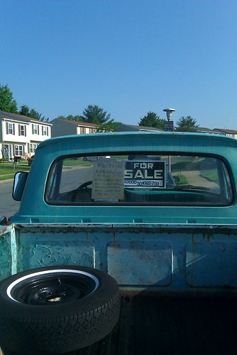 Early 60's Ford F100 Frederick Md