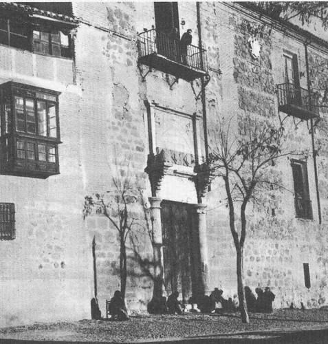Palacio de Fuensalida a comienzos del siglo XX