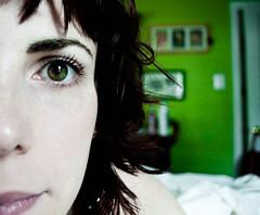 Happy Cliche Saturday (MamaOwlPhoto) Tags: green me that eyes amelie were they arent wish really ineedatan my i myskinissopale clichesaturdaypool nexttopinkgreenismyfavoritecolor mascaramakesadifference