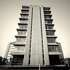 Charter House - Ashford Kent (only lines) Tags: building architecture concrete kent ashford charterhouse