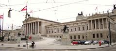 Austrian Parliament (Vienna, Austria) (courthouselover) Tags: vienna wien austria sterreich europa europe unesco europeanunion europischeunion europeseunie unescoworldheritagesites bcs unioneuropenne unioneeuropea uniaeuropejska eurpskania evropskunie bundeslandwien evropskaunija eurpaiuni viennastate nationalcapitols uniuneaeuropean