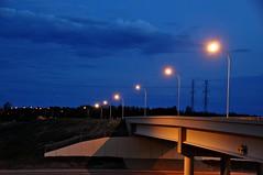 Blue Hour (Stella Blu) Tags: bridge stella sky canada night dark drive evening edmonton blu alberta anthony handheld bluehour afterdark henday nikkor18200 dailyshoot fotocompetition fotocompetitionbronze ds203 nikond5000 pregamewinner