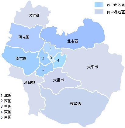 台中map