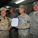 Vice Adm. Bill Gortney visits Sailors at NTM-A in Afghanistan