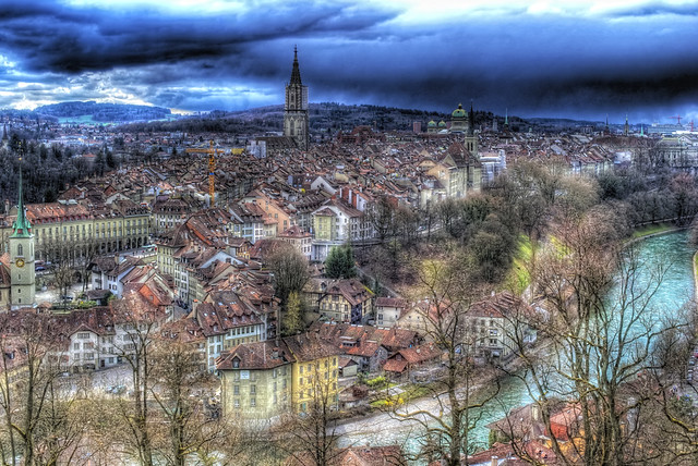 Berne's Lovely Old Town (HDR) [Explored]