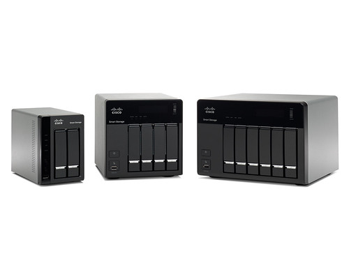 Cisco Small Business NSS 300 Series Smart Storage