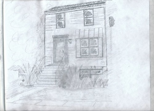 Modern Colonial sketch