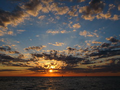 Lake Michigan sunset (rkramer62) Tags: sunset beauty clouds lakemichigan hollandstatepark ottawacounty rkramer62