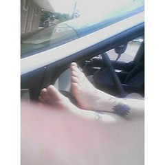 taxi5(a) (bftk) Tags: feet window car soles ticklish