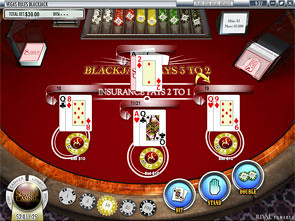 Vegas Rules Multi-Line Blackjack