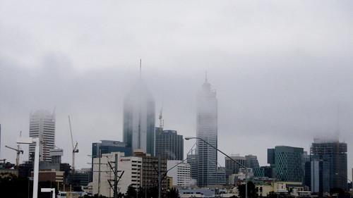 Cloudy Perth