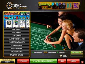 Casino.com Casino Lobby