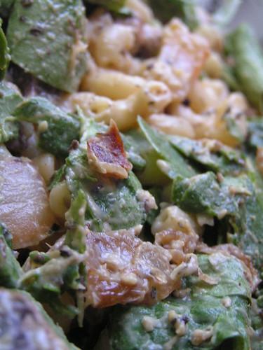 Hummus Pasta: Pre-Baked