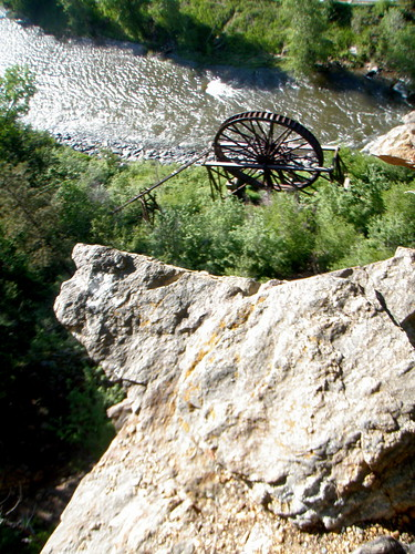 Charlie's Waterwheel from above