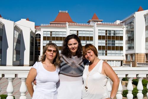 Могучая кучка: Надежда Буракова, Лидия Чунихина и Ирина Костюк