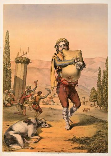 009-Musico armenio-The oriental álbum 1862- J.H. Van Lennep