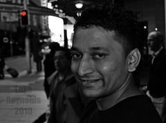 65 of 100 (Luke-rative) Tags: people smile dark warmth depression 100strangers 100strangersproject lukereynolds wwwlukereynoldstumblrcom