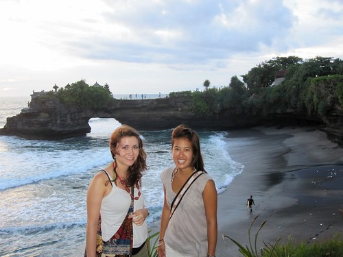 Us at Tanah Lot