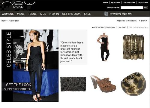 Moda para todos, Tienda online de New Look