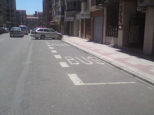 parada de bus en León