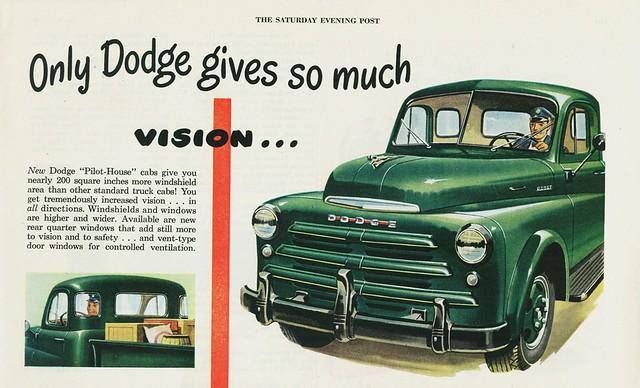 1948 truck ad pickup dodge