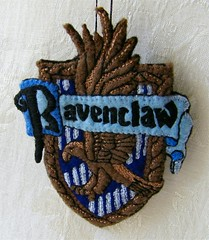 Harry Potter Ravenclaw Shield Hand Embroidered Felt Ornament (Autumn2May) Tags: emblem embroidery harrypotter craft felt crest ornament shield etsy insignia hogwarts ravenclaw handembroidered