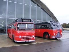 Midland Red (PD3.) Tags: show cambridge red bus buses field museum vintage 1 coach war 26 5 c air september duxford imperial preserved cambridgeshire midland c5 airfield 2010 psv pcv 26th c1 301 kha 780 gha showbus 4780 3301 bmmo kha301 780gha
