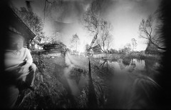 The quiet place (batuda) Tags: trees barn paper pond pinhole d76 blender coffeecan cylindrical polymax sinkunai