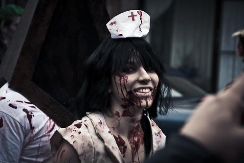 Helloooooo Zombie Nurse!
