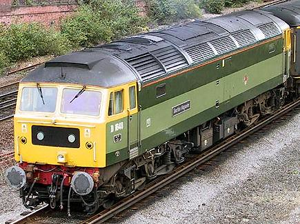 Locomotive used for private charter trains (UK)