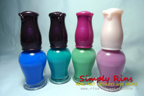 Nail Polishes From Nanay 03