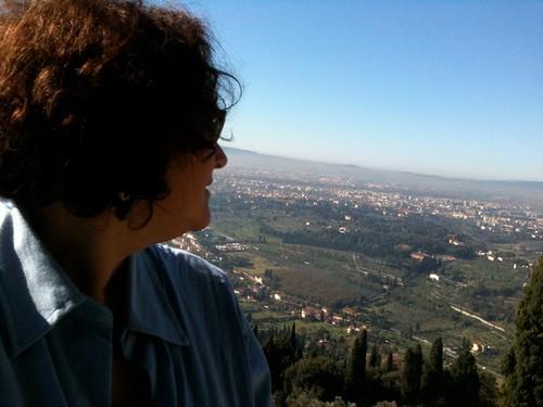 NK overlooking Fiesole