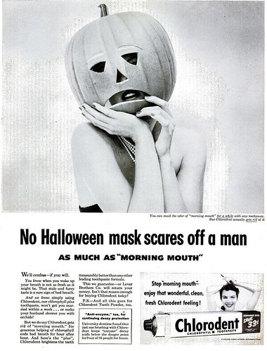 No Halloween Mask Life Oct 26 1953