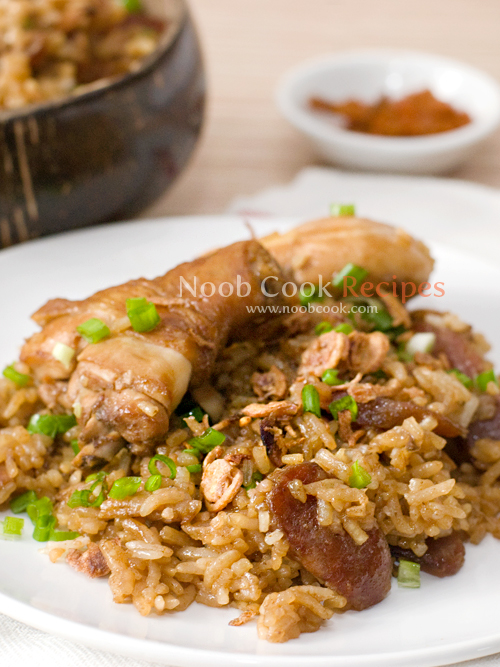 Chicken & Lup Cheong Rice