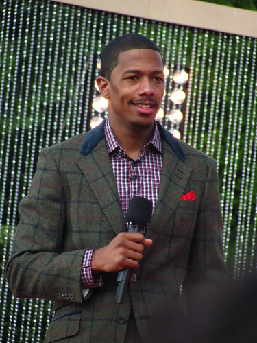 Disney Parks Christmas Day Parade Host Nick Cannon introduces Selena Gomez