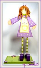cachinhos vermelhos (AP.CAVALARI / ANA PAULA) Tags: baby art painting ana doll arte handmade country beb boneca madeira pintura mdf criao anapaula cavalari anapaulacavalari apcavalari