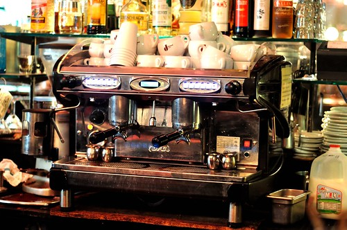 Dumbo General Store - Danesi coffee mach by dumbonyc, on Flickr