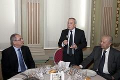Ureña, Solchaga y Embajador de Chile en España