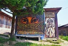 oficina (matilde.m.s) Tags: door mxico graffiti puerta porta porte chiapas zapatistas oventic