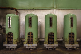 Objects of a power plant