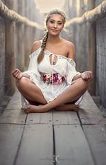 Vida Meditation (CALLEJÓN) Tags: naturallight beauty portrait d810 nikon woman girl 85mm outdoor