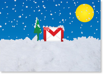Happy holidays from Gmail
