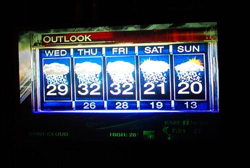 130 christmas forecast