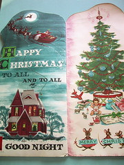 Night before Christmas (bewitchedmagic) Tags: santa christmas vintage book 1958 nightbeforechristmas retrokids florencesarahwinship midcenturymod
